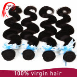 Distribuidores por atacado chineses Hair Weavon, Body Wave Natural Color Braiding Hair Extension