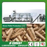 linha de madeira da pelota da biomassa 1t/H