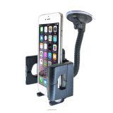 Le stand 360 de support de support de pare-brise d'aspiration tournent le support de téléphone de véhicule