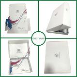 À l'intérieur du cadre de empaquetage de vêtement ondulé blanc d'impression