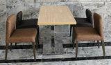 놓이는 편리한 직물 Uphlstory 식탁 및 의자 (LL-BC084)