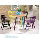 Cadeira de jantar de madeira moderna para o café do restaurante (HW-EX608C)