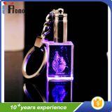 Catena chiave del cristallo LED per la promozione
