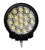 4*4オフロード車のトラックSUV ATV UTV 7inchのドライビング・ライトIP68のためのクリー族チップが付いている軍事大国90W LED作業ライト