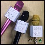 Altofalante sem fio profissional portátil do microfone do karaoke de Bluetooth do telefone móvel mini