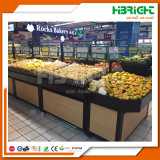 Cremagliera di visualizzazione della frutta e della verdura del supermercato