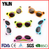 Seis cores Bear Cartoon Kids Eyewear com Ce FDA (YJ-217)