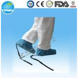 Устранимая Non сплетенная противостатическая крышка ботинка с проводным шнурком