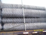 Sechseckige Draht-Filetarbeit mit heißem eingetaucht galvanisiert nachdem dem Spinnen