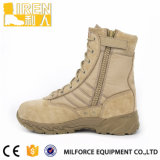 중국 ISO 기준 스웨드 가죽 군 육군 사막 부츠
