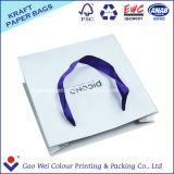 Sac réutilisable de papier d'emballage d'impression faite sur commande de logo de constructeur de la Chine