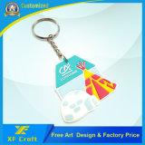Corrente chave de borracha personalizada de PVC 2D / 3D com qualquer design de logotipo (XF-KC-P28)