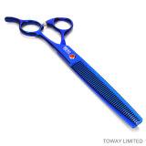 Tijeras del pelo de perro del cortador de las herramientas de la preparación del animal doméstico de la impresión en color