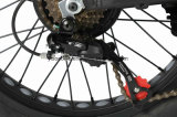 Bateria escondida neve que dobra a bicicleta de E com pneu gordo