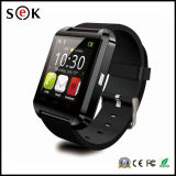 Pantalla táctil capacitiva U8 pulsera del reloj inteligente, Deporte socio Health Monitor inteligente reloj U8 teléfono, reloj Bluetooth para Android Ios