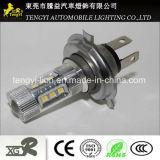 base ligera auto de Xbd del CREE del socket de la linterna With20t15t10 H1h3 de la lámpara de la niebla del poder más elevado LED de la luz del coche de 12V 80W LED