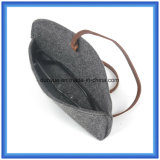 OEM Factory Make Wool Felt Casual Hand Bag, Promotional Gift Sun Glasses Packing Briefcase Bag