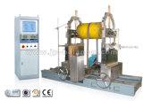 Máquina de equilibrio del ventilador, impulsor del ventilador, turbina de vapor, rodillo del rotor
