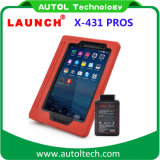 Mise à jour gratuite automatique d'outil de diagnostique de véhicule tablette PC 8 initiale du lancement X431 de la PRO '' sur la version officielle du site Web X-431 Proglobal