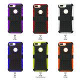 Shs Kickstand individuel 2 antichoc dans 1 cas de téléphone cellulaire pour Lenovo K3&#160 ; Note