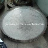 Buona testa della guarnizione del piatto del coperchio del serbatoio dell'acciaio inossidabile di elasticità
