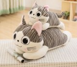 Giocattolo dell'animale della peluche farcito gatto giapponese sveglio