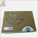 Коробка дешевого роскошного изготовленный на заказ бумажного подарка ювелирных изделий картона магнитного упаковывая для кольца от изготовления Китая