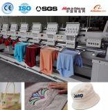 8 Köpfe computergesteuerte Schutzkappen-und Shirt-Stickerei-Maschine mit 9 Nadel-besten Preisen