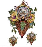 Etiqueta engomada temporal colorida de moda del tatuaje del arte de la etiqueta engomada del tatuaje