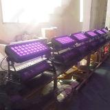 屋外DMX 36X10W RGBW 4in1 LEDの壁の洗濯機
