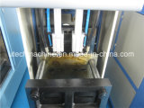 Semi automático de plástico de botellas de PET estirado-soplado máquina de moldeo