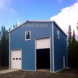 Construction préfabriquée de cloche de structure métallique pour l'application industrielle