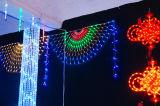 Ce&RoHS ha approvato gli indicatori luminosi esterni della rete della tenda del LED per la decorazione della via