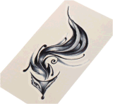 Etiqueta engomada temporal impermeable atractiva de moda del tatuaje del Fox