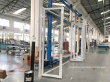 強い二重ガラスアルミニウムBiの折れ戸