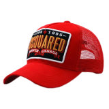 O bordado feito sob encomenda tampa bonés de beisebol relativos à promoção do tampão do Snapback do chapéu dos tampões do algodão de Burshed