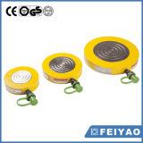 Cilindro hidráulico plano mecánico de efecto simple de escasa altura de Feiyao Gato
