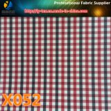 Polyester-Gingham-Check. Promt Waren des Check-Gewebes (X051-054)