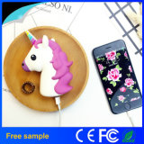 Échantillons gratuits Emoji Cartoon Cute Unicorn Chargeur de batterie externe portable