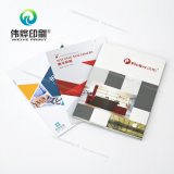 Brochure personnalisée avec l'impression d'obligatoire parfait (utilisation pour la promotion)