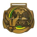 Medaglia internazionale su ordinazione del premio di sport della stazione di finitura del Triathlon