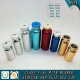 Het kleurrijke UV Galvaniserende Tubulaire Flesje van het Glas met