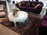 Tapete luxuoso do revestimento da sala de visitas do Chenille brilhante da forma