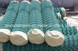 Загородка звена цепи PVC Sailin с материалом металла