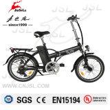 2016 nueva bici eléctrica plegable del negro 36V 250W del diseño (JSL039XH-1)