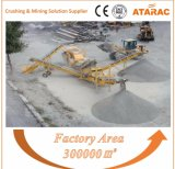 Trituradora de quijada móvil para la explotación minera (YT150)
