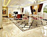 6b6019 3D completa de cerámica vidriada pulido suelos interiores Azulejos