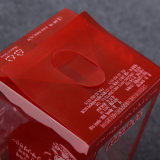 PP складывая коробку пластичного цвета упаковывая
