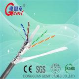 Câble cuivre engainé par câble examiné de gaine de câble