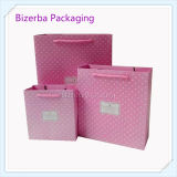 분홍색 색깔 서류상 포장 인쇄 부대